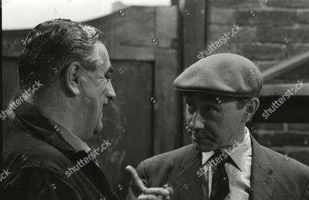 Stock Picture of Bernard Youens (as Stan Ogden) and Reginald Barratt (as Billy Jump)