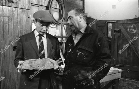 Stock Photo of Reginald Barratt (as Billy Jump) and Bernard Youens (as Stan Ogden)