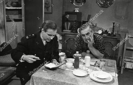 Colin Edwynn as P.C. Conway and Bernard Youens (as Stan Ogden)