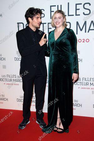 Louis Garrel and Greta Gerwig