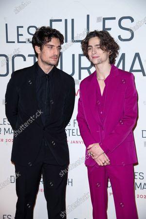 Louis Garrel and Timothee Chalamet