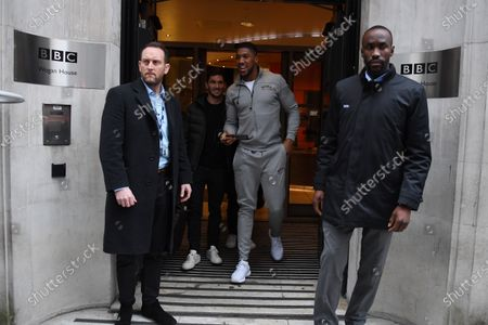 Editorial picture of Anthony Joshua out and about, London, UK - 13 Dec 2019
