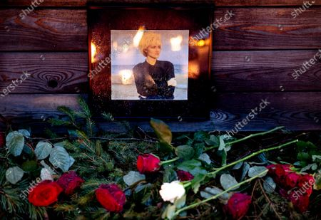 Editorial picture of Tributes to Marie Fredriksson, Stockholm, Sweden - 12 Dec 2019