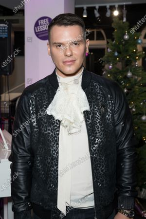 Israel Cassol attends the music event of John Galea performing festive songs at the Yamaha Store in Soho, London.