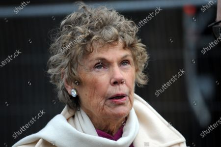 Stock Photo of Kate Hoey on College Green outside the Houses of Parliament to comment on the election