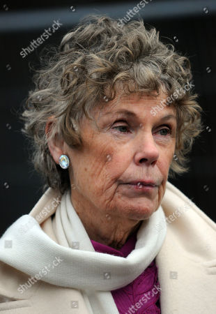 Kate Hoey on College Green outside the Houses of Parliament to comment on the election