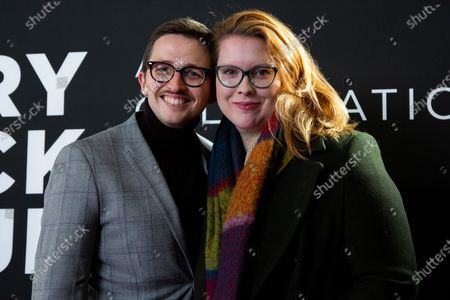 Stock Photo of Will Roland and Stephanie Wessels