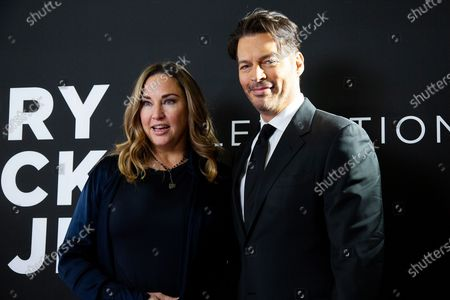 Stock Image of Jill Goodacre and Harry Connick Jr.