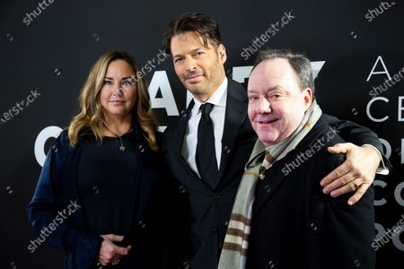 Jill Goodacre, Harry Connick Jr. and James Nederlander