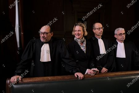Editorial image of Dephine Boel at the Court of Appeal, Brussels, Belgium - 13 Dec 2019