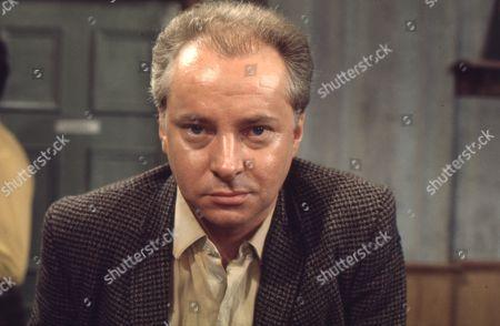 Betty Turpin is terrorised by Keith Lucas. David Webb as Keith Lucas