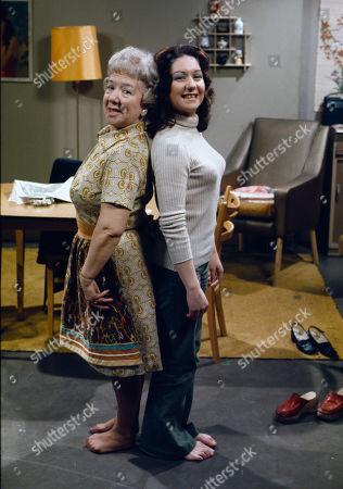 Gabrielle Daye (as Beattie Pearson) and Jennifer Moss (as Lucille Hewitt)