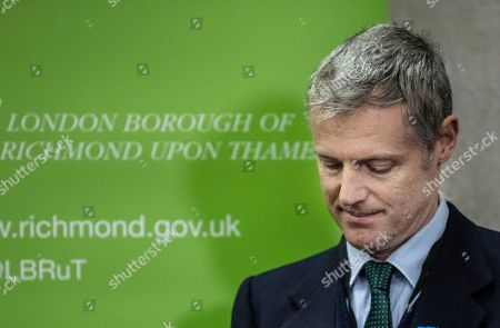 Zac Goldsmith Minister of State for Environment loses his seat to Liberal Democrat candidate Sarah Olney.