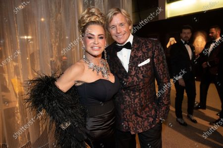 Christopher Atkins and Connie Witteman