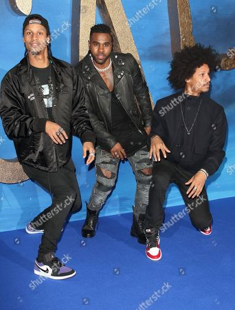 Larry Nicolas Bourgeois, Jason Derulo and Laurent Bourgeois