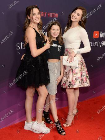 Annie LeBlanc, Hayley LeBlanc and Lilia Buckingham