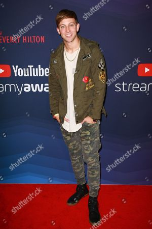 Editorial picture of 9th Streamy Awards, Arrivals, The Beverly Hilton, Los Angeles, USA - 13 Dec 2019