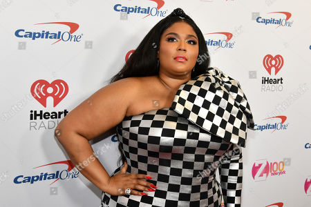 Lizzo attends Z100's iHeartRadio Jingle Ball at Madison Square Garden, in New York