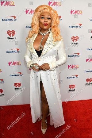 Peppermint attends Z100's iHeartRadio Jingle Ball at Madison Square Garden, in New York