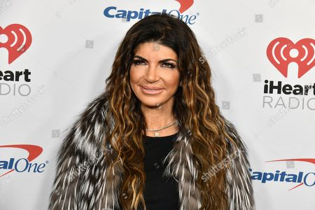 Teresa Giudice attends Z100's iHeartRadio Jingle Ball at Madison Square Garden, in New York