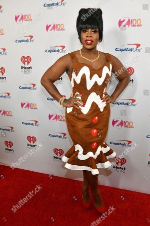 Monet X Change attends Z100's iHeartRadio Jingle Ball at Madison Square Garden, in New York
