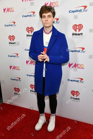 Spencer Sutherland attends Z100's iHeartRadio Jingle Ball at Madison Square Garden, in New York