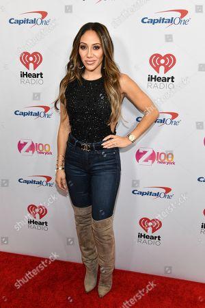 Melissa Gorga attends Z100's iHeartRadio Jingle Ball at Madison Square Garden, in New York