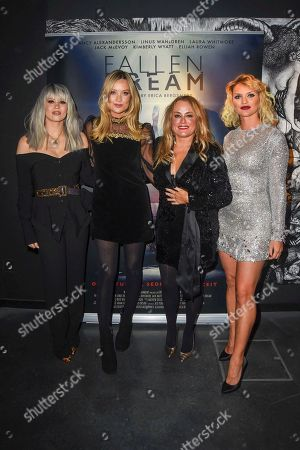 Kimberly Wyatt, Laura Whitmore, Erica Bergsmeds and Fancy Alexandersson