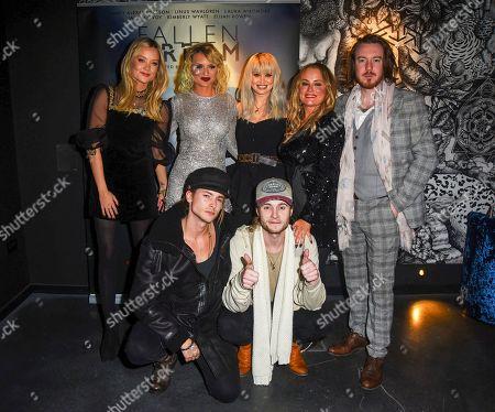 Editorial image of 'Fallen Dream' film premiere, The Mandrake Hotel, London, UK - 13 Dec 2019