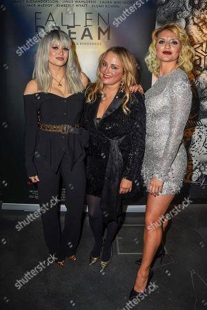 Kimberly Wyatt, Erica Bergsmeds and Fancy Alexandersson