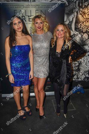 Alysha, Fancy Alexandersson and Erica Bergsmeds