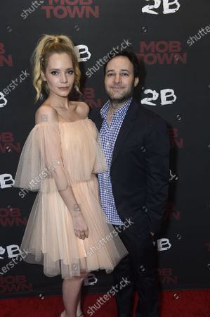 Stock Image of Caitlin Mehner and Danny Strong