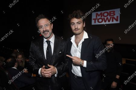 David Arquette and Brandon Thomas Lee