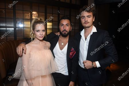 Stock Picture of Caitlin Mehner, Danny A. Abeckaser and Brandon Thomas Lee at the After Party