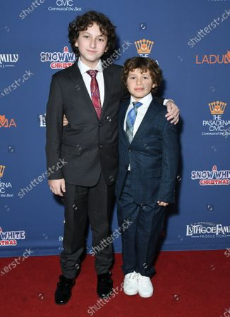 Editorial picture of Lythgoe Family Panto's 'A Snow White Christmas' Opening Night Event, Arrivals, Pasadena Civic Auditorium, Pasadena, USA - 13 Dec 2019