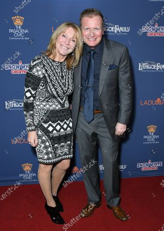 Editorial photo of Lythgoe Family Panto's 'A Snow White Christmas' Opening Night Event, Arrivals, Pasadena Civic Auditorium, Pasadena, USA - 13 Dec 2019