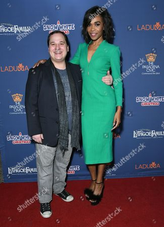 Stock Image of Jared Gertner and Michelle Williams