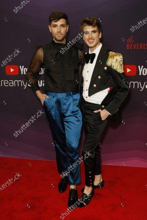 Daniel Preda and Joey Graceffa