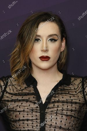 Editorial image of 9th Streamy Awards, Arrivals, The Beverly Hilton, Los Angeles, USA - 13 Dec 2019