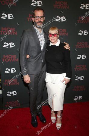 Eric White, Patricia Arquette