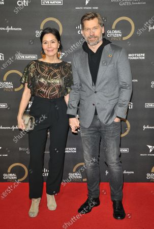 Editorial picture of Global Citizen Prize awards, Arrivals, Royal Albert Hall, London, UK - 13 Dec 2019