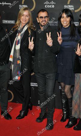 Stock Photo of Barbara Bach and Ringo Starr