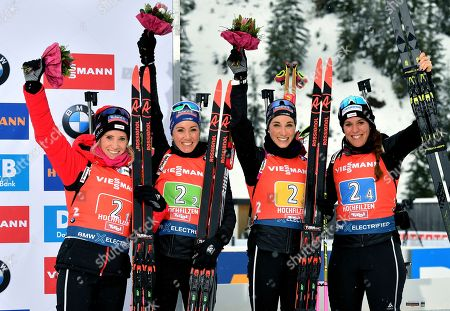 Editorial picture of Biathlon World Cup, Hochfilzen, Austria - 14 Dec 2019