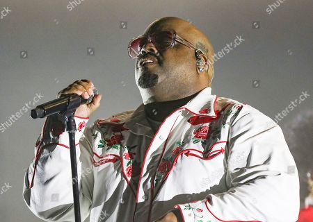 Cee Lo Green performs during the Holiday Hits Tour 2019 at Center Stage Theater, in Atlanta