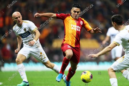 Editorial picture of Galatasaray Istanbul vs MKE Ankaragucu, Turkey - 14 Dec 2019