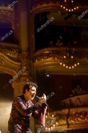 Manolo Garcia performs on stage at el Liceu in Barcelona, Spain, 14 December 2019.
