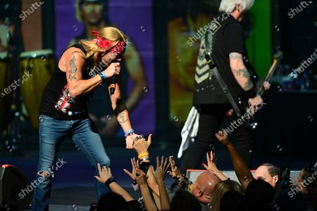 Editorial photo of Bret Michaels in concert at Hard Rock Event Center, Los Angeles, USA - 13 Dec 2019