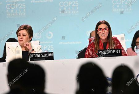 Editorial image of UN Climate Change Conference COP25, Madrid, Spain - 14 Dec 2019