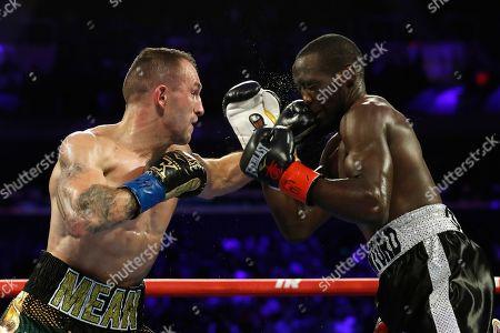 Editorial picture of Crawford Kavaliauskas Boxing, New York, USA - 14 Dec 2019