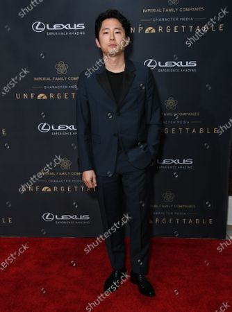 Editorial image of Unforgettable Gala, Beverly Hilton Hotel, Arrivals, Los Angeles, USA - 14 Dec 2019